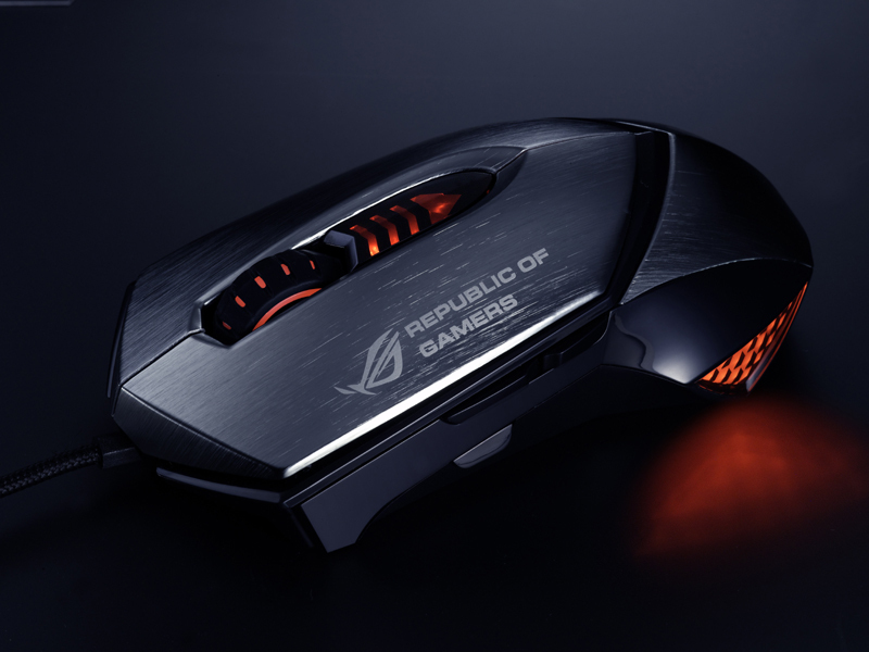 ASUS GX1000 Eagle Eye Maus