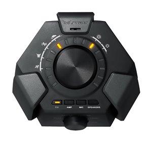 Vier Gaming-Sound-Spektrum-Profile